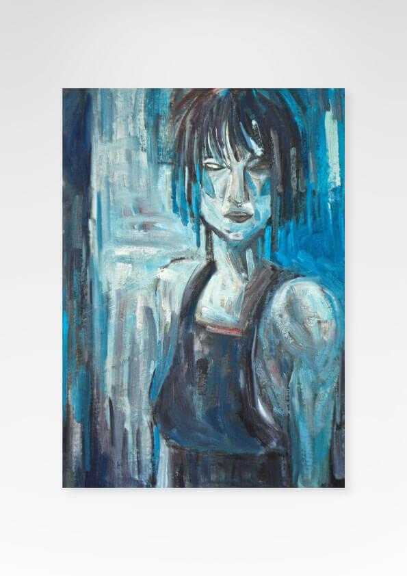 Obra Blues Fine Art exclusiva da Céu Galeria de Arte