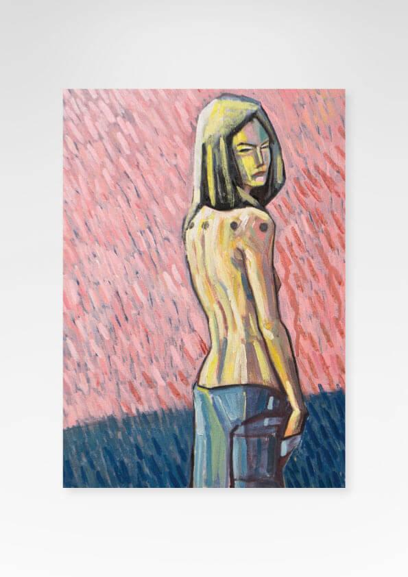 Obra Doll Fine Art exclusiva da Céu Galeria de Arte