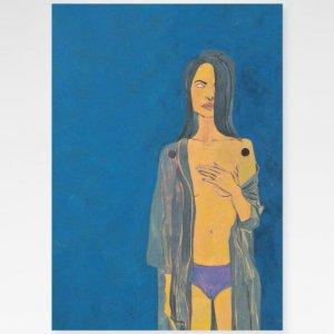 Obra Mão ao Peito Fine Art exclusiva da Céu Galeria de Arte