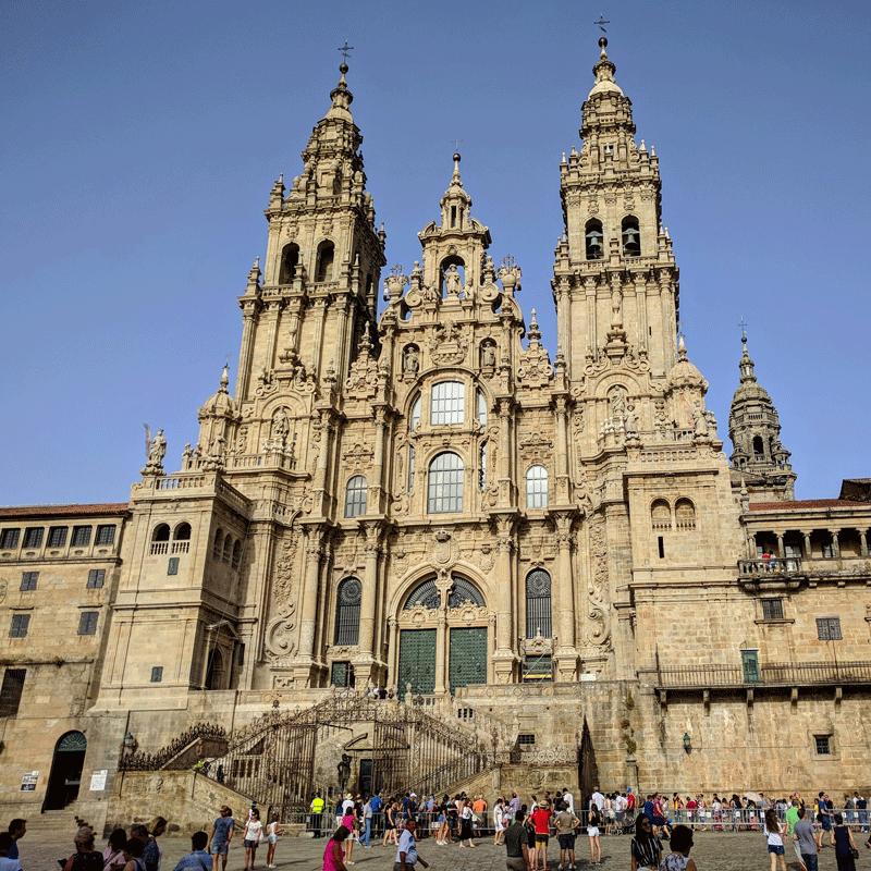 Arte barroca - Igreja de Santiago de Compostela
